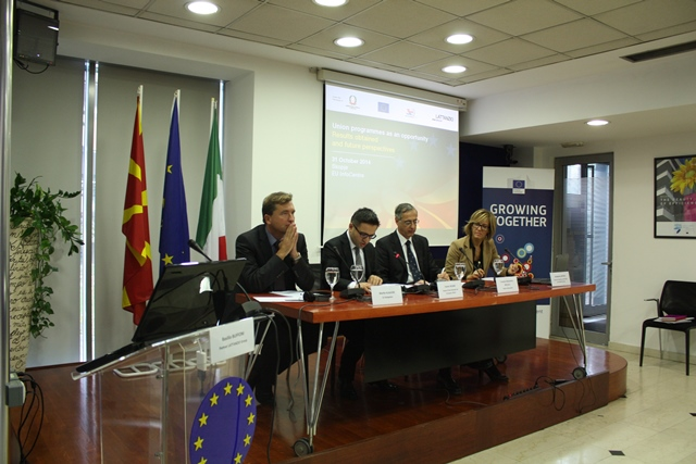 Evento: Union programmes as an opportunity, Skopje