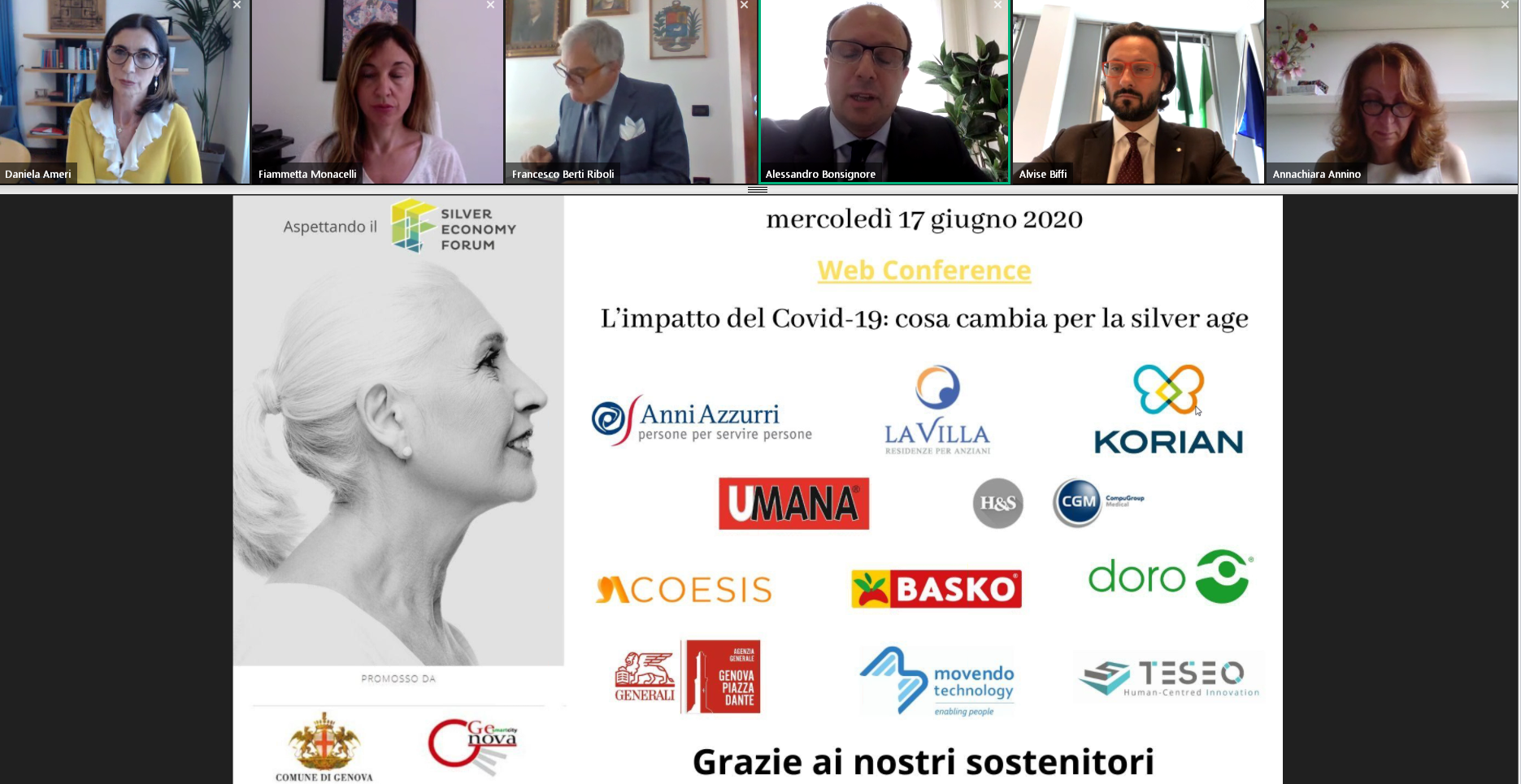 LATTANZIO Monitoring & Evaluation presents the results of the study on Silver and e-health