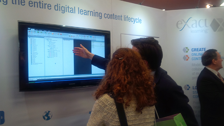 eXact learning solutions al Learning Technologies 2014