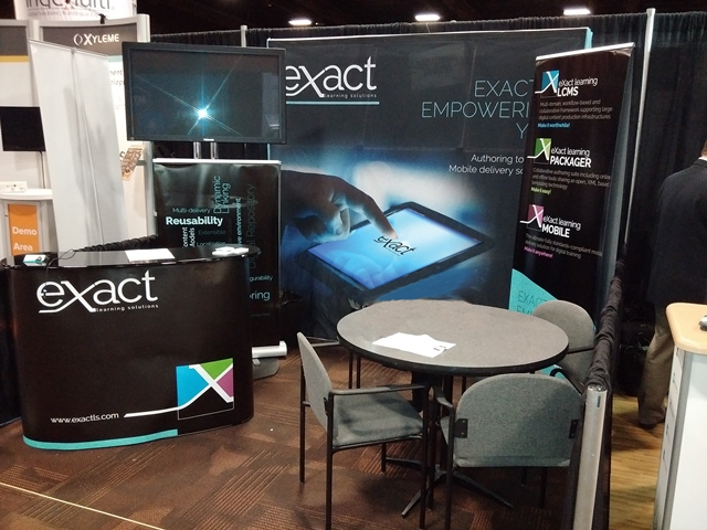 eXact learning solutions al DevLearn 2015