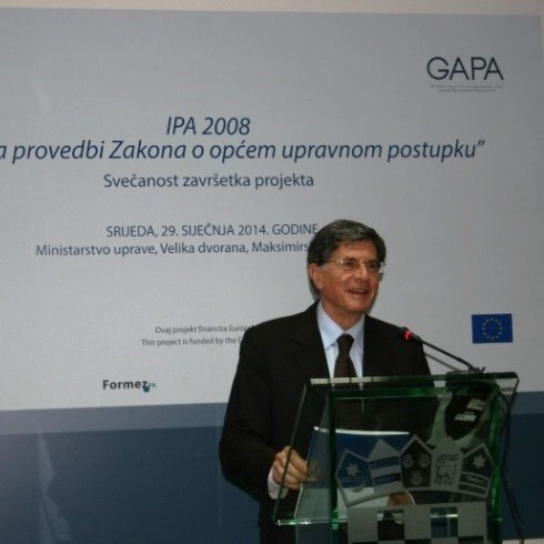 Lattanzio e Associati at the closing event of the GAPA project in Croatia