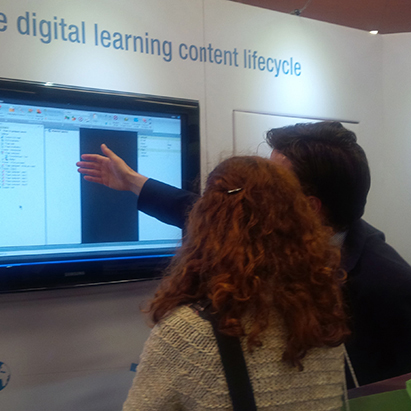 eXact learning solutions at Learning Technologies 2014