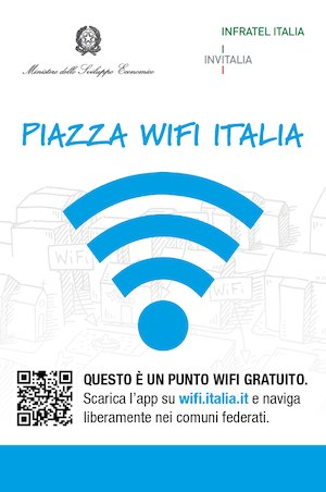 """Piazza Wi-Fi Italia"" communication campaign"